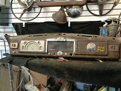 1938 Buick Special Dashboard W/ Guage Cluster, Speedometer