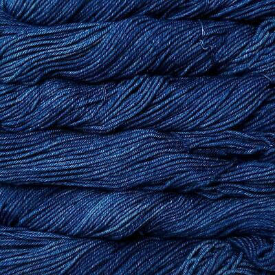 "Malabrigo Rios ""Blue Jean (210)"" Superwash Merino Knitting Yarn Wool 100g"