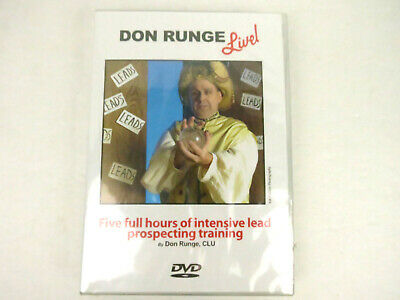 Don Runge Live! - Five Full Hours Of Intensive Lead Prospecting Training (DVD)