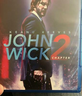John wick chapter 2 Blu-ray Disc with case. Ships Same Or Next Day Free