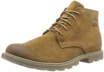 d167eca53 SOREL Mens Madson Chukka Walking Winter Leather Ankle Waterproof Boots -  Came.
