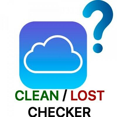 Apple iCloud Clean/Lost FMI Check All Devices Except Mac