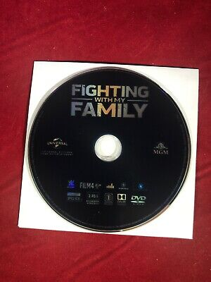 Fighting with my Family (DVD, 2019) NEW No case or artwork