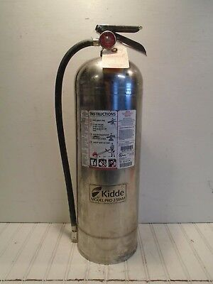 Kidde Fire Extinguisher Pro 2.5WM WORKS 2-1/2 gal. Water Can