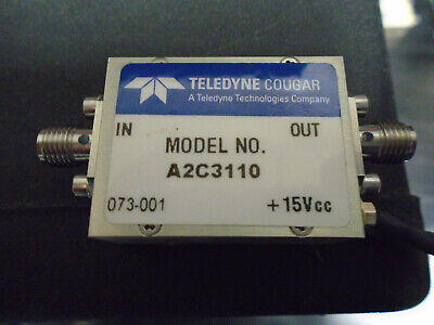 Teledyne Cougar A2C3110 Amplifier Free Shipping