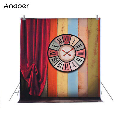 Andoer 1.5 * 2m/4.9 * 6.5ft Photography Background Backdrop Computer Y0K3