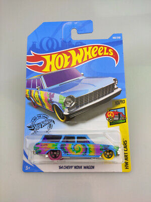 64 Chevy Nova Wagon #188 2019 Hot Wheels Case K NEW