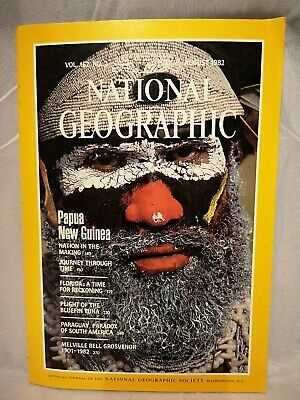 Vintage National geographic 1982 August Magazine VOL. 162, #2 Back issue
