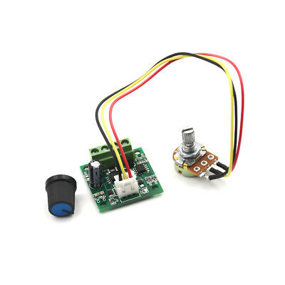 Mini PWM Motor Speed Controller Regulator Module DC 1.8V to 12V 2A MN