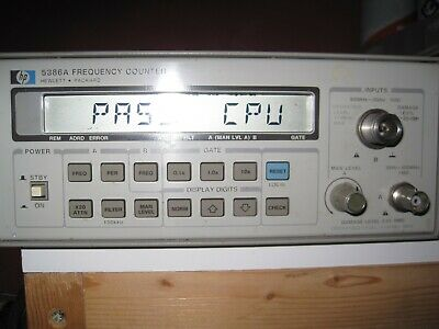 HP 5386A FREQUENCY COUNTER 3 GHz
