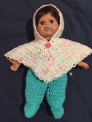 Hand Crocheted Dolls Clothes for 11 inch Doll