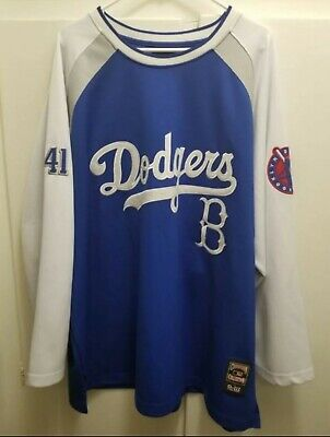8b28edef3 BROOKLYN DODGERS WORLD Series 1955 Mirage Jacket Cooperstown ...
