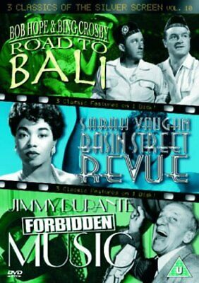 3 Classics Of The Silver Screen - Vol. 10 - Road To Bali /  DVD (2005) Bob Hope