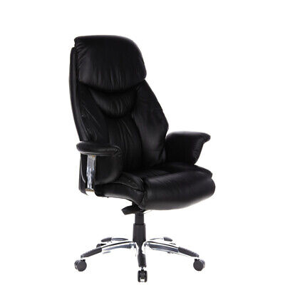 Luxury thick padded Executive Chair PU Leather high Backrest PRADO hjh OFFICE