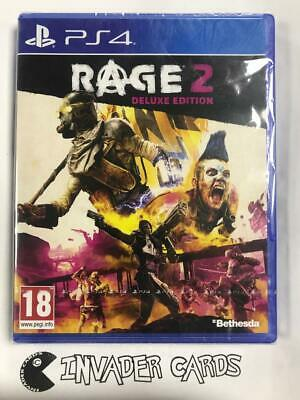 Rage 2 Deluxe Edition PS4 Sony PlayStation 4 UK Video Game New Boxed Sealed