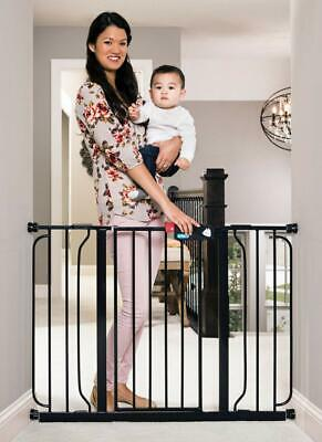 Regalo Easy Step 49-Inch Extra Wide Baby Gate, Includes 4-Inch And 12-Inch Exten
