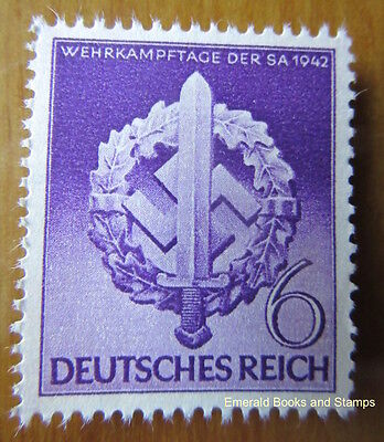 EBS Germany 1942 War Effort Day of the Storm Troopers Michel 818 MNG
