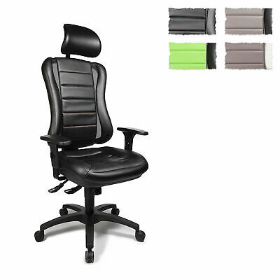 Professional Office Chair Ergonomic Desk Chair Adjustable HEAD POINT RS Topstar