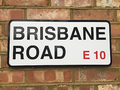 Leyton Orient Brisbane Road Street Sign Perfect Gift For Any Orient Fan Lofc