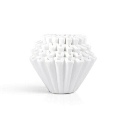 Kalita Wave Drip Coffee Filter WHITE KWF-185 100 Sheets 2-4 Cups