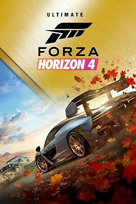Forza Horizon 4 & 3 Ultimate All Dlc Auto Activation Region Free Only Pc Account