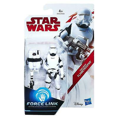 "Star Wars The Last Jedi Force Link First Order Flametrooper New 3.75"" Figure"