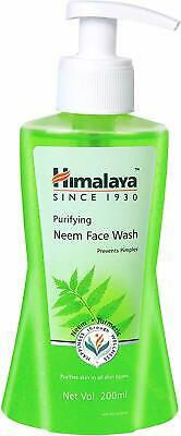 Himalaya Purifying Neem Face Wash 200Ml   Prevents Pimples  Free Shipping