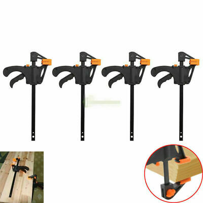 2x 4/'/'Speed Bar Quick Ratcheting Clamp Spreaders Jaw Ratchet Vice Tool US