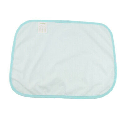 Reusable Bed Sheet Pads Underpads Incontinence Aid Washable Waterproof Blue