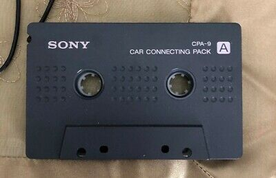 Sony CPA-9 A Car Connecting Pack Cassette Adapter for MP3/iPod