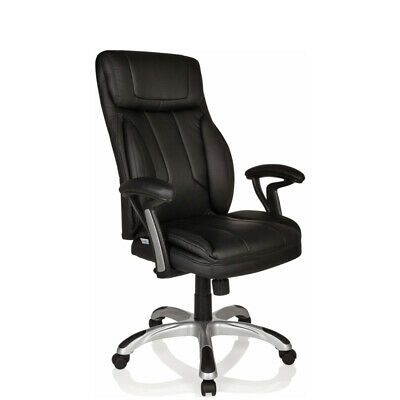 Office Chair Executive Chair PU Chair Swivel Leather black MANERA II hjh OFFICE