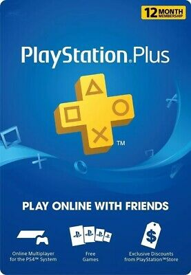 PLAYSTATION PLUS 12 MESES | 365 DAYS | 1 YEAR PREMIUM Account ( leer Desc.)