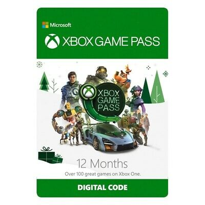 12 MONTH XBOX GAME PASS REDEEM CODE | INSTANT EMAIL DELIVERY | Region Free W VPN