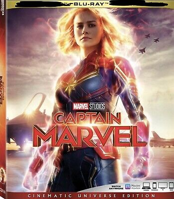 Captain Marvel Blu-ray Disc Only.No Case-Pre Order-read All 6/11/2019