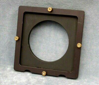 "Unknown 6 X 6"" Lens Board, With Filter Holder? Who Made This?"