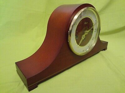 Hermle 340 020A Movement  Westminster Chime Tambour Style Napoleon Hat Clock