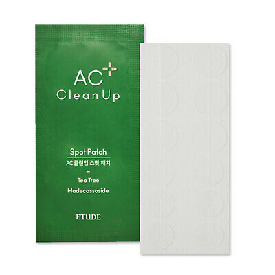 Etude House AC Clean Up Spot Patch 1 Sheet (12Patches)