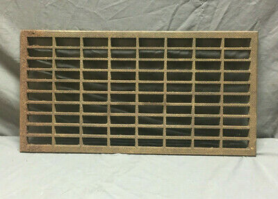 Vintage Cast Iron Vent Grill Cold Air Return Grate Old 205-19L