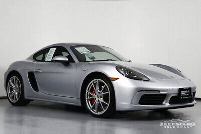 2017 Porsche 718 Cayman S 2017 S Used Certified Turbo 2.5L H4 16V RWD Coupe Premium