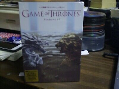 Game of Thrones: Seasons 1-7     (DVD set, 2017)  w/Slipcover   Brand NEW