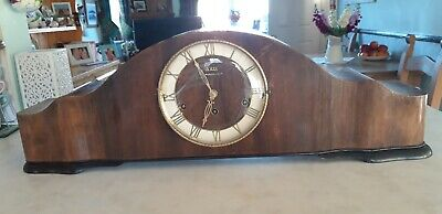 German Rolls Westminister Large Mantel Clock RETRO 1930s