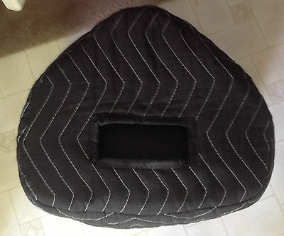 TURBOSOUND MILAN M10 M-10 Custom Padded Black Covers (2) -  Qty of 1 = 1 Pair!!