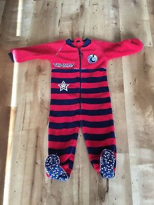 Mothercare All In One Sleepsuit Thomas The Tank Engine 12-18 Mths