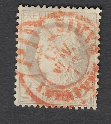 N°52 Cad Rouge Imprime Pd Paris Timbre Stamp Briefmarken