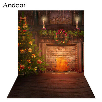 Andoer 1.5 * 2m Photography Background Backdrop Digital Printing Christmas N1W4