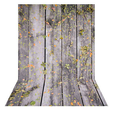 Andoer 1.5 * 2m Photography Background Backdrop Digital Printing Wood N1E8