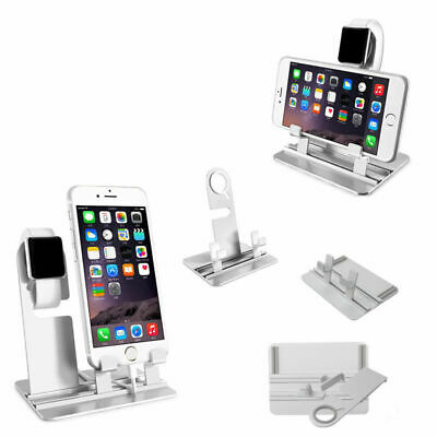 Apple Watch iWatch iPhone Charging Dock Station Charger Stand Holder Cradle