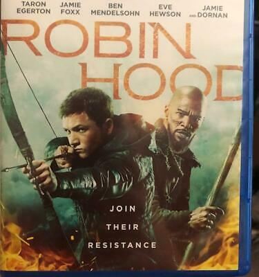 Robin Hood 2018 Blu-ray Disc only. Free shipping. Read all