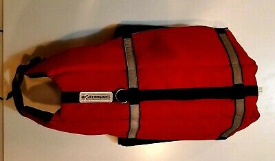 ExtraSport Deluxe Personal Floating Device (Life Jacket) for Large Dogs