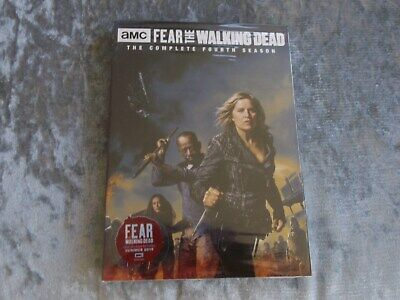 FEAR THE WALKING DEAD SEASON 4 DVD UK  Brand New and Sealed